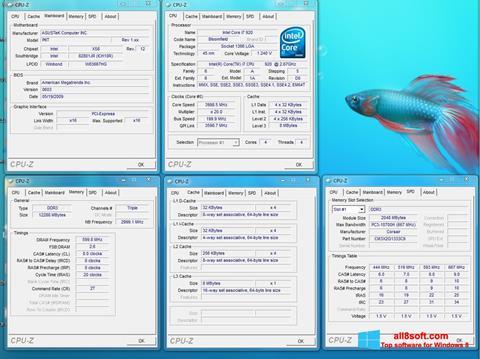 Screenshot CPU-Z for Windows 8