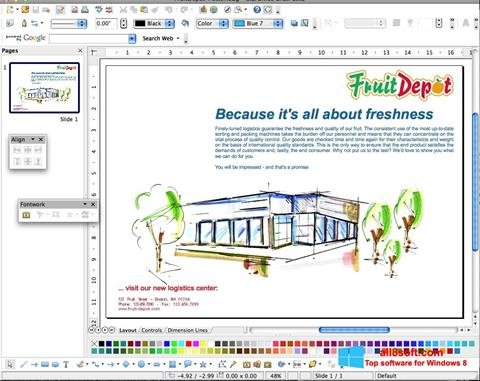 Screenshot Apache OpenOffice for Windows 8