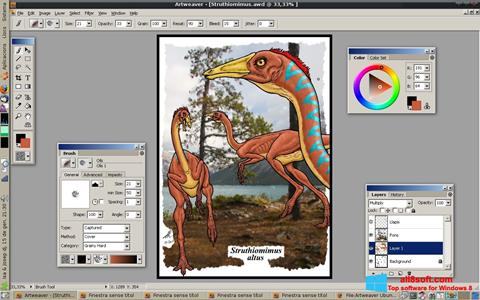 Screenshot Artweaver for Windows 8