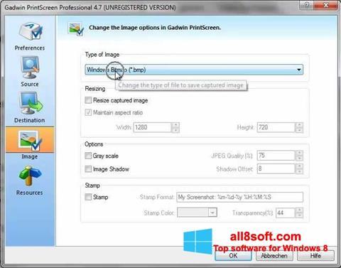 Download Gadwin PrintScreen for Windows 8 (32/64 bit) in English