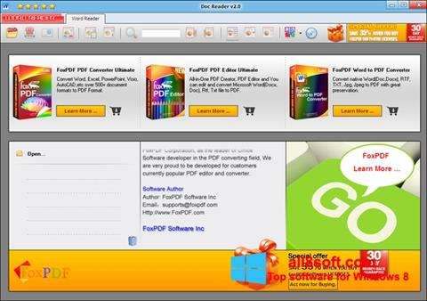 Screenshot Doc Reader for Windows 8