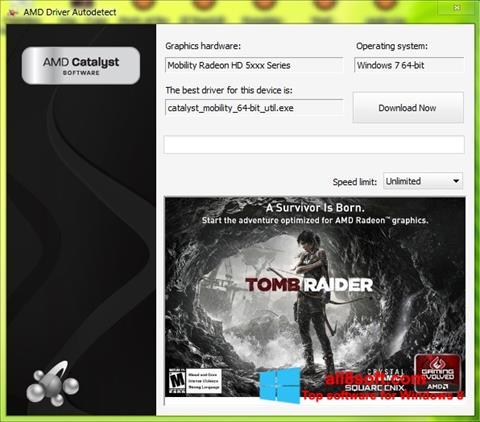 Screenshot AMD Driver Autodetect for Windows 8