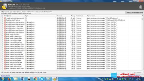 Screenshot Recuva for Windows 8