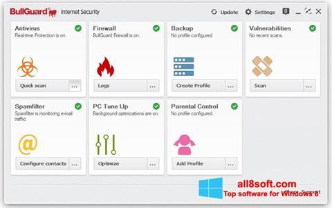Screenshot BullGuard for Windows 8