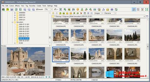 Screenshot FastStone Image Viewer for Windows 8