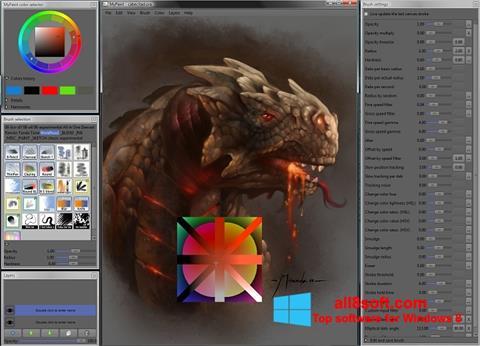 Screenshot MyPaint for Windows 8