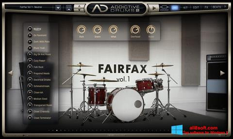 Screenshot Addictive Drums for Windows 8