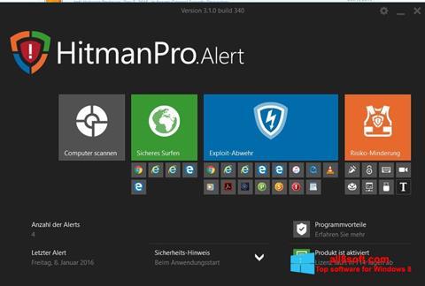 Screenshot HitmanPro for Windows 8