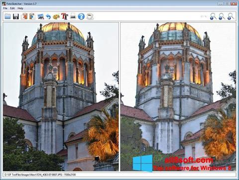 Screenshot FotoSketcher for Windows 8