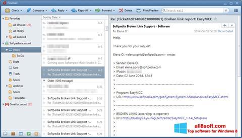 Screenshot FoxMail for Windows 8