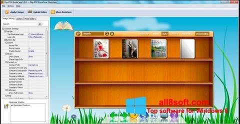Screenshot Bookshelf for Windows 8
