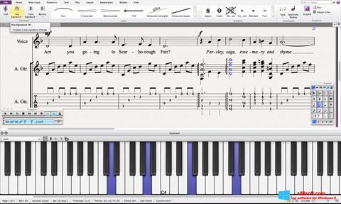 Screenshot Sibelius for Windows 8
