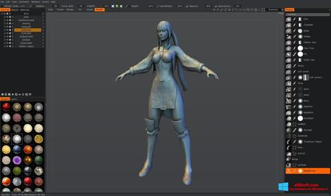 Screenshot 3D-Coat for Windows 8