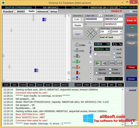 Screenshot Victoria for Windows 8