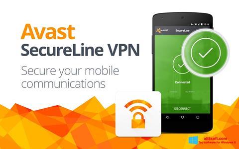 Screenshot Avast SecureLine VPN for Windows 8