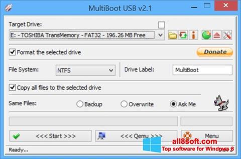Screenshot Multi Boot USB for Windows 8