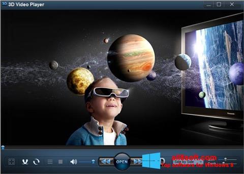Screenshot 3D Video Player for Windows 8