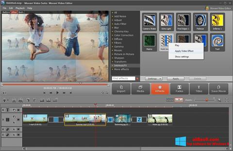 Screenshot Movavi Video Suite for Windows 8