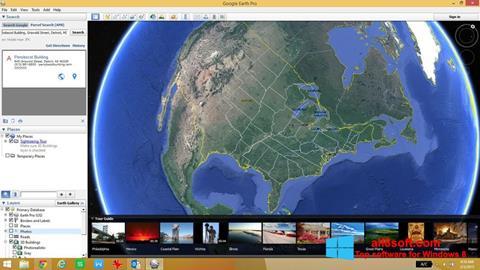 Screenshot Google Earth for Windows 8