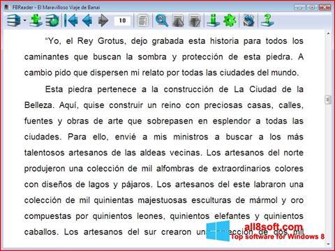 Screenshot FBReader for Windows 8