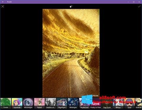 Screenshot PicsArt for Windows 8