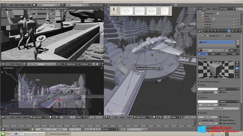 Screenshot Blender for Windows 8