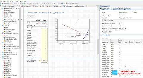 Screenshot AnyLogic for Windows 8