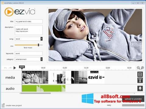 Screenshot Ezvid for Windows 8
