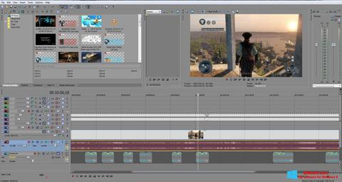 Screenshot Sony Vegas Pro for Windows 8