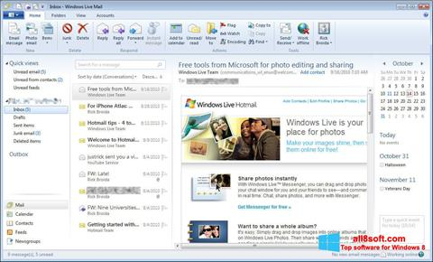 Screenshot Windows Live Mail for Windows 8
