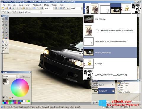 Screenshot Paint.NET for Windows 8