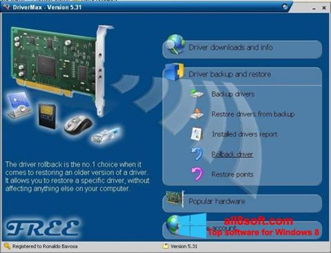Screenshot Driver Cleaner for Windows 8