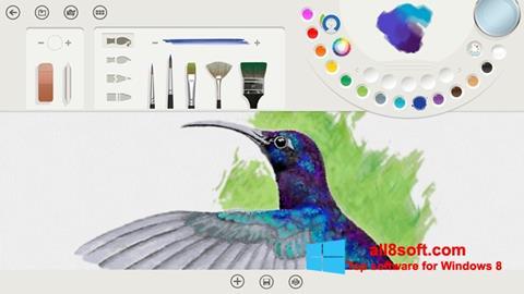 Screenshot Fresh Paint for Windows 8