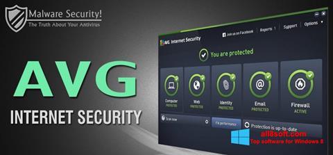 Screenshot AVG Internet Security for Windows 8