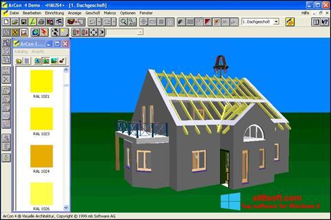 Screenshot Arcon for Windows 8