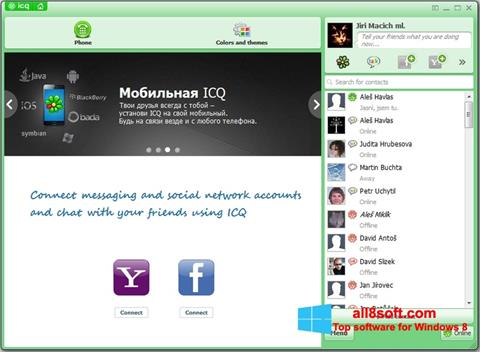 Screenshot ICQ for Windows 8