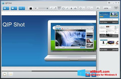 Screenshot QIP for Windows 8