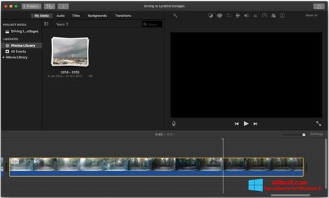 Screenshot iMovie for Windows 8
