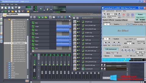 Screenshot Linux MultiMedia Studio for Windows 8