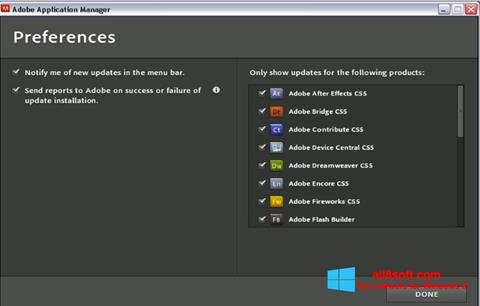 Download Adobe Application Manager for Windows 8 (32/64 bit