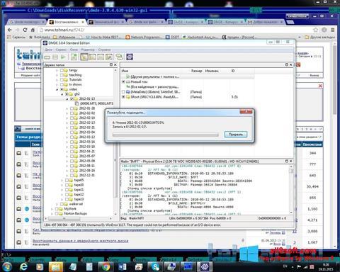 Screenshot DMDE for Windows 8
