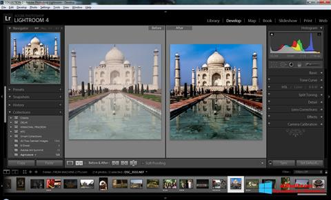 Screenshot Adobe Photoshop Lightroom for Windows 8