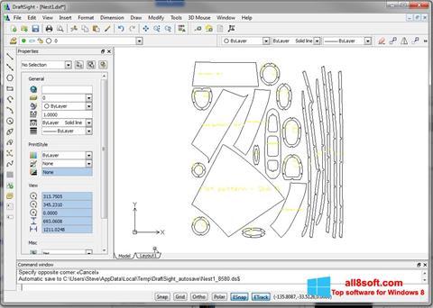 Screenshot DraftSight for Windows 8