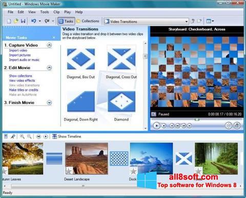 Screenshot Windows Movie Maker for Windows 8