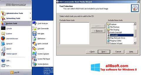 Screenshot ERD Commander for Windows 8