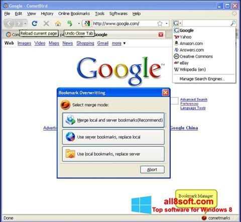 Screenshot CometBird for Windows 8