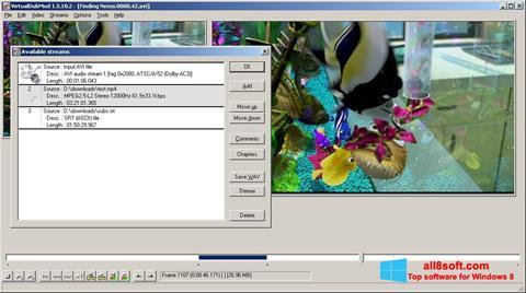Screenshot VirtualDubMod for Windows 8