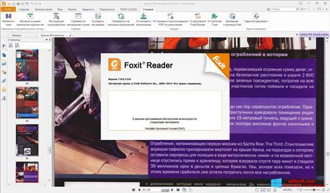 Screenshot Foxit Reader for Windows 8