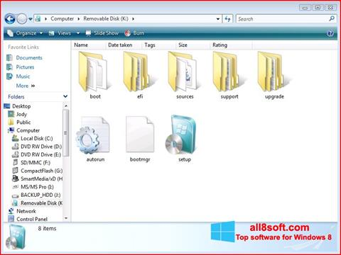 Screenshot Windows 7 USB DVD Download Tool for Windows 8