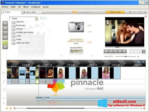 Screenshot Pinnacle VideoSpin for Windows 8